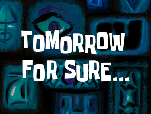 Tomorrow For Sure by mirz-alt