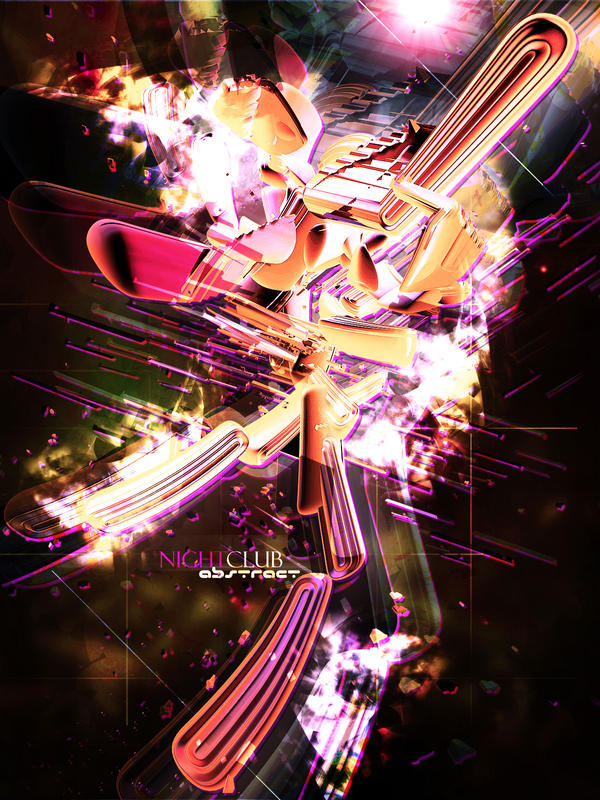 Nightclub Abstract by 2easy4yoshi