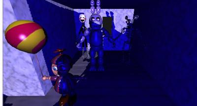 FNAF spawn room  by DeathbronyYT