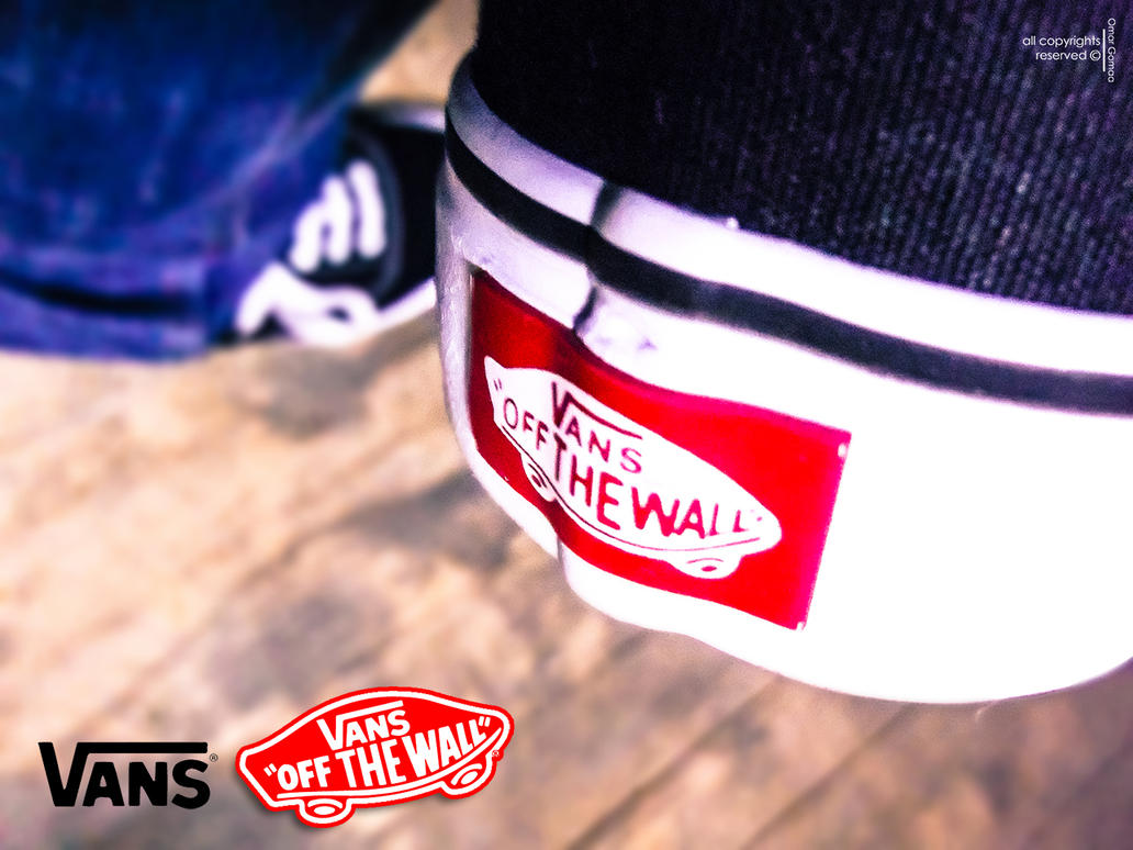 vans all the wall