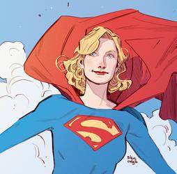 Little sketch - Supergirl