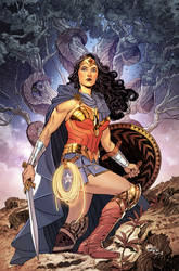 Wonder Woman #16 - Cover