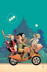 Harley and Ivy meet Betty and Veronica cover