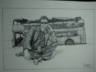 Doctor Who Bus by MarieTaylor