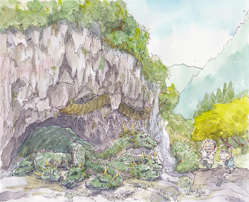 Yamatanoorochi by NORIMATSUKeiichi