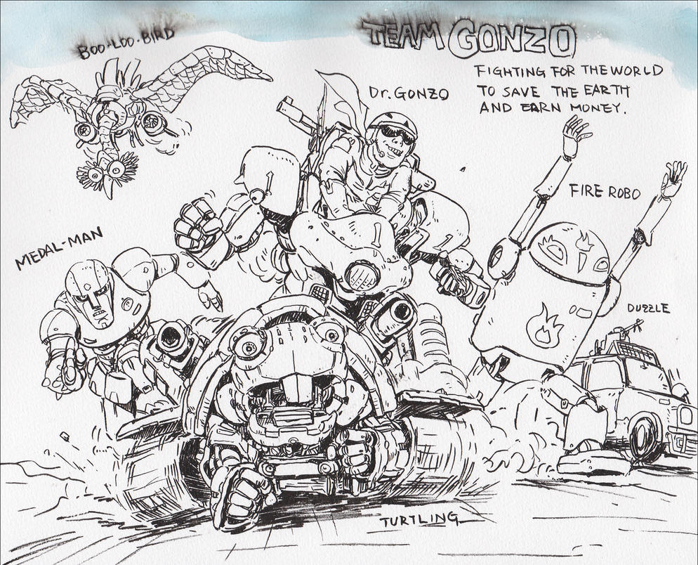 Team-Gonzo-;-failure by NORIMATSUKeiichi