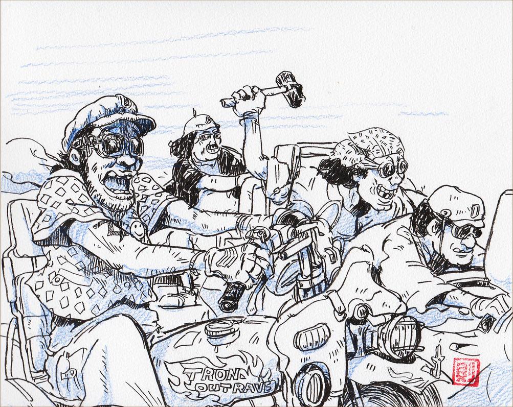 Team-scoundrels by NORIMATSUKeiichi