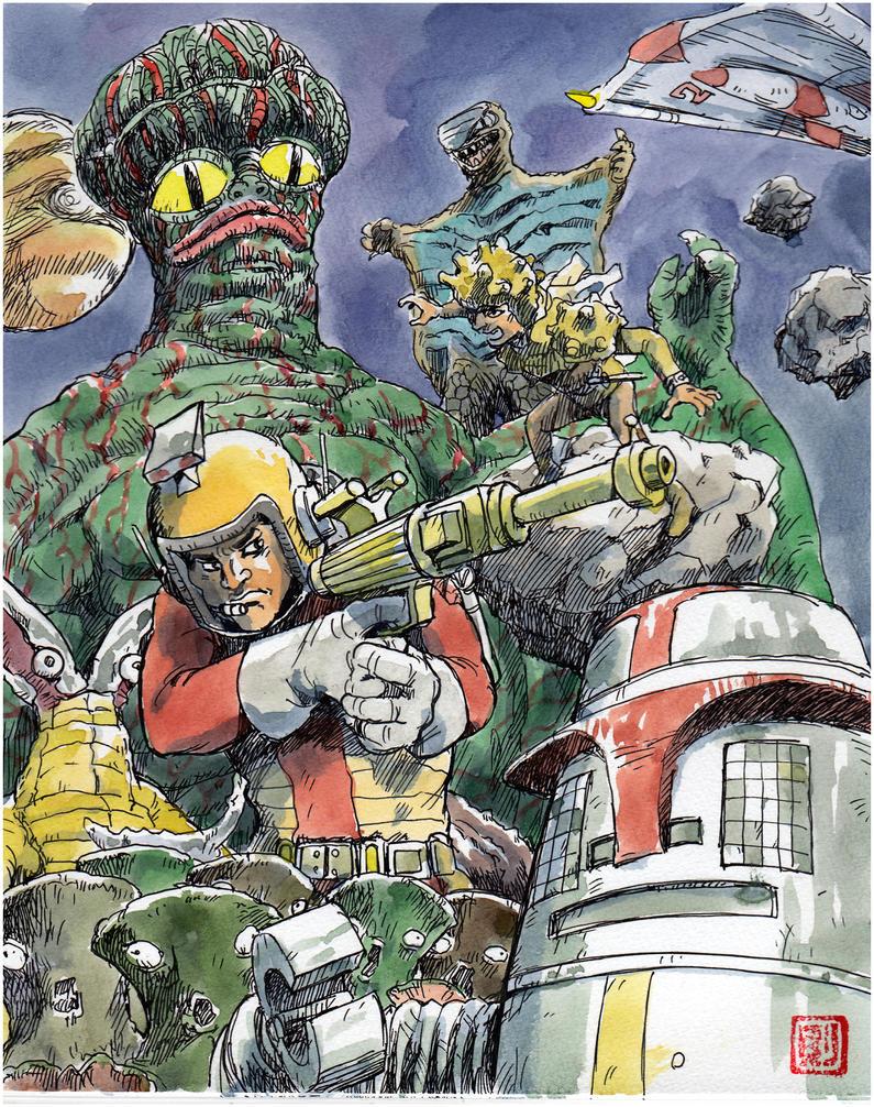 Captain-Ultra by NORIMATSUKeiichi