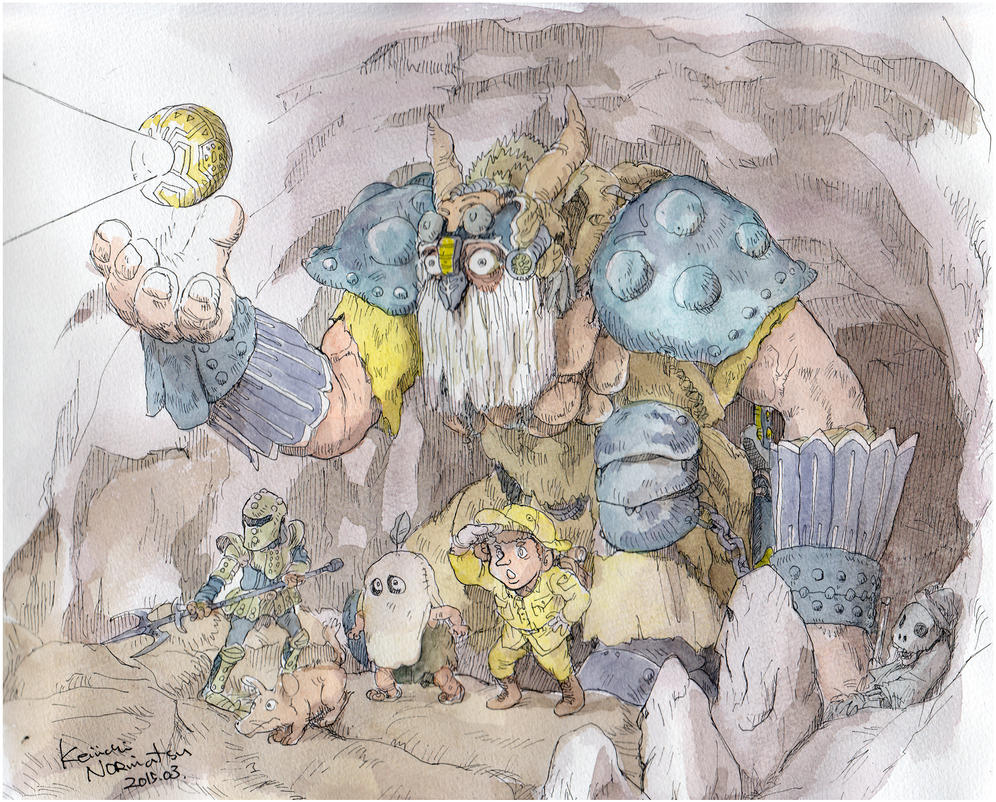 Cave-adventure by NORIMATSUKeiichi
