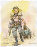 Lady-soldier