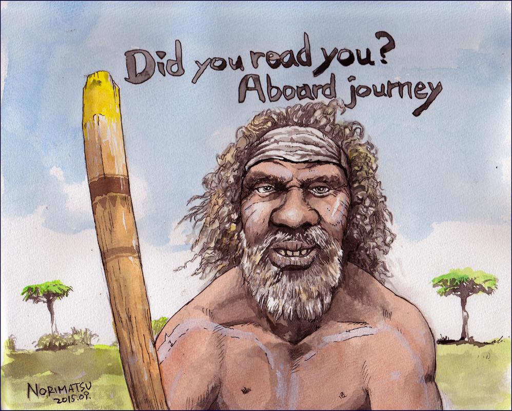 Didgeridoo-Aborigine by NORIMATSUKeiichi