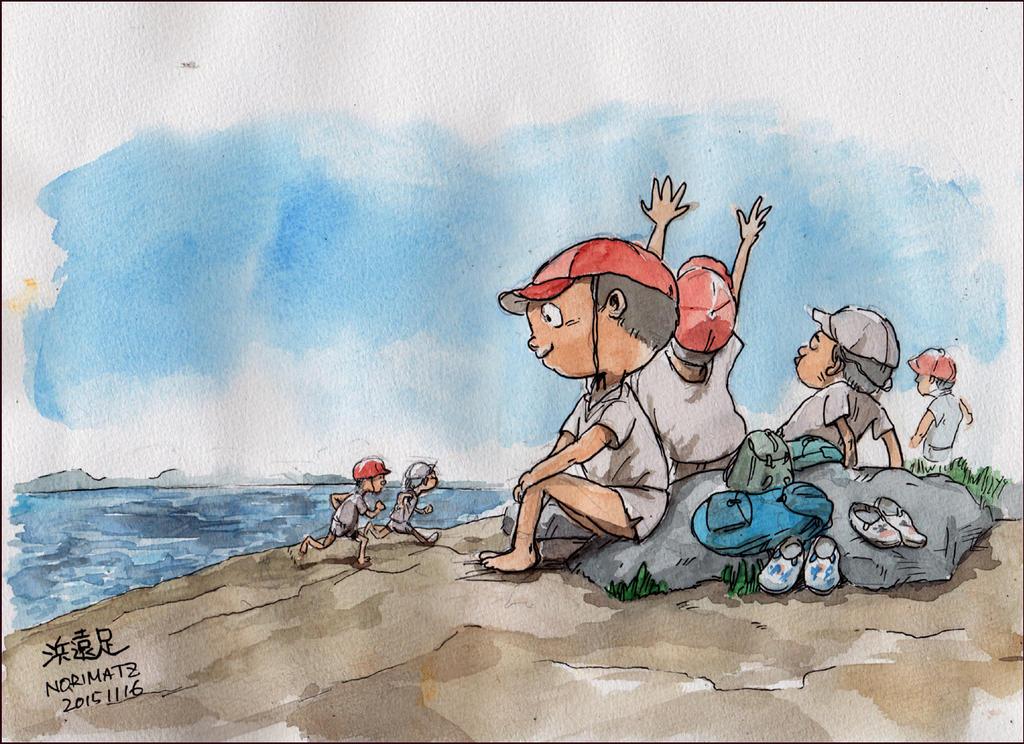 School-picnic by NORIMATSUKeiichi