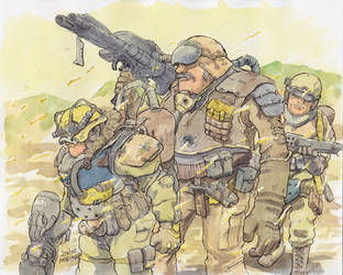 Small-platoon by NORIMATSUKeiichi