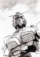 Gundam-something by NORIMATSUKeiichi