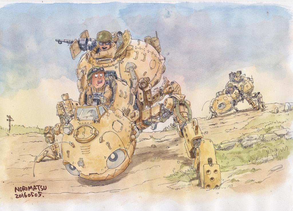 Ant-force by NORIMATSUKeiichi