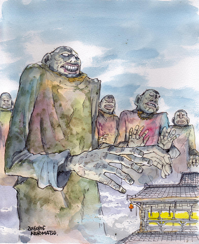 Big-monks by NORIMATSUKeiichi