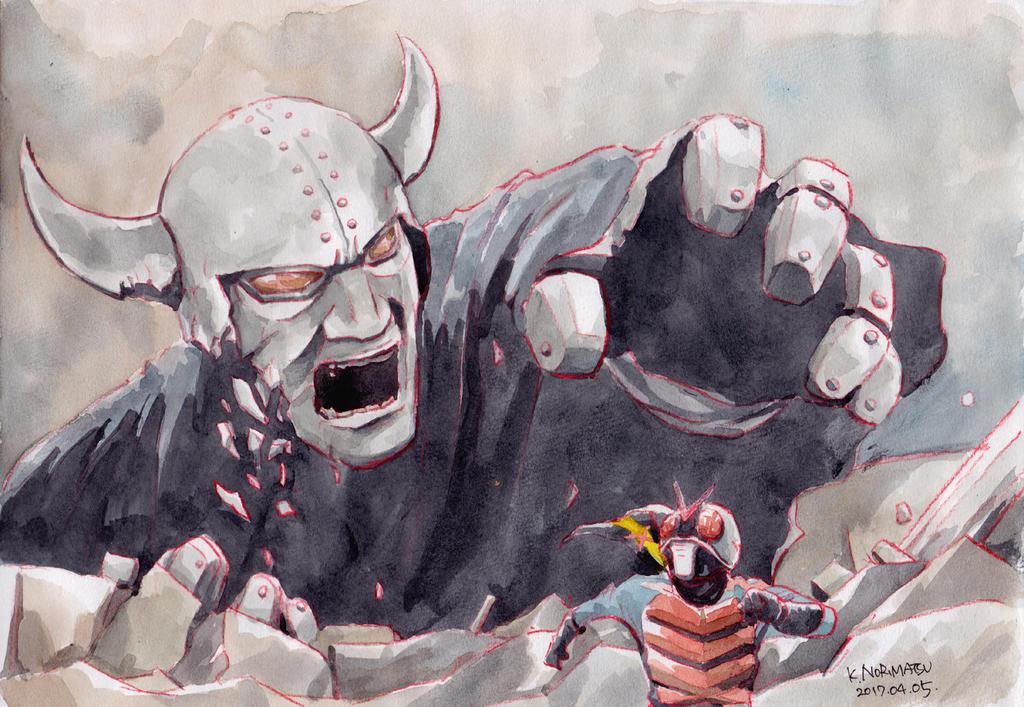 Villain-collapsing by NORIMATSUKeiichi