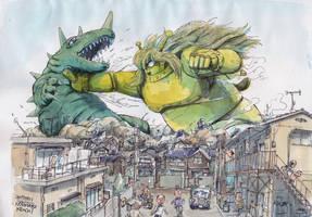 Kaiju-fight