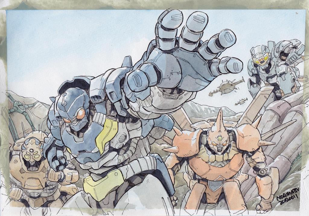 Autobotish-troopers by NORIMATSUKeiichi