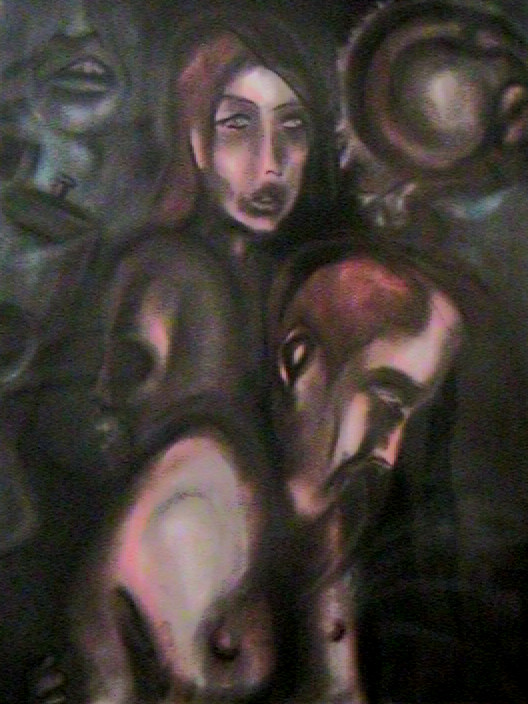 'Burning Leaves' 2003 by UrartadKonst