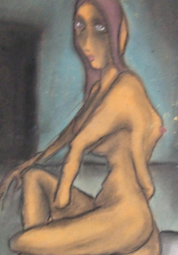 'Void Girl' 2007 by UrartadKonst