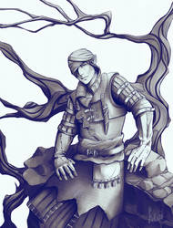 Iorveth fanart by YuKo27