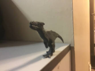 Allosaurus Model