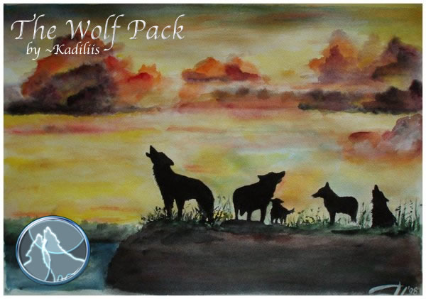 The Wolf Pack by Kadiliis by The-Wolf-Pack