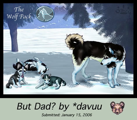 But Dad by Davuu by The-Wolf-Pack