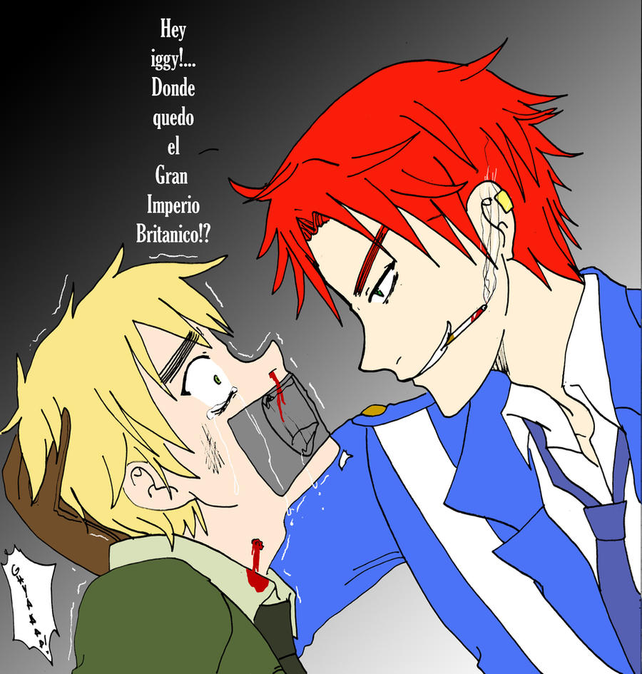 Scotland and England by Irumi69