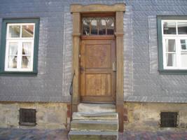 Stock: old door wood by akibara-stock