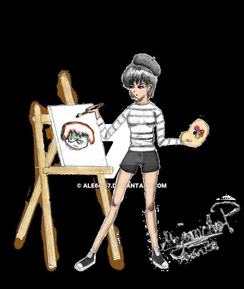 Le jeune artiste by Ale64157