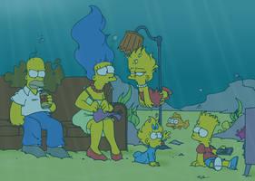 Deep, Deep Trouble by underwatertoons