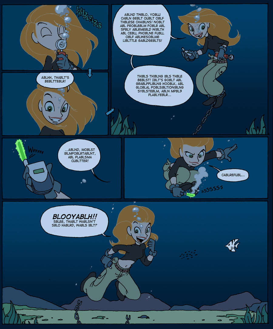 Diving Lessons With Kim Possible P3 By Underwatertoons