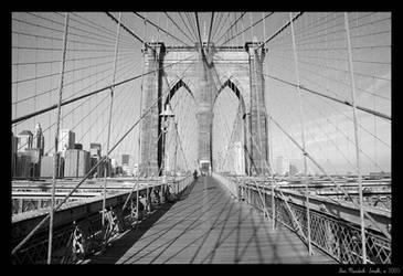 Brooklyn Bridge - 2 by nebheadian