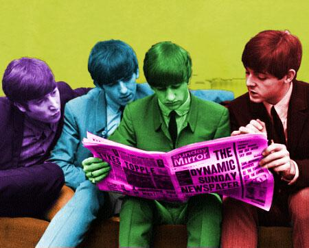 The Beatles by HeroxHeroine99