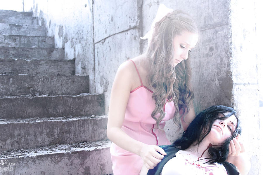 Aerith to Tifa: ANGEL by NightNike
