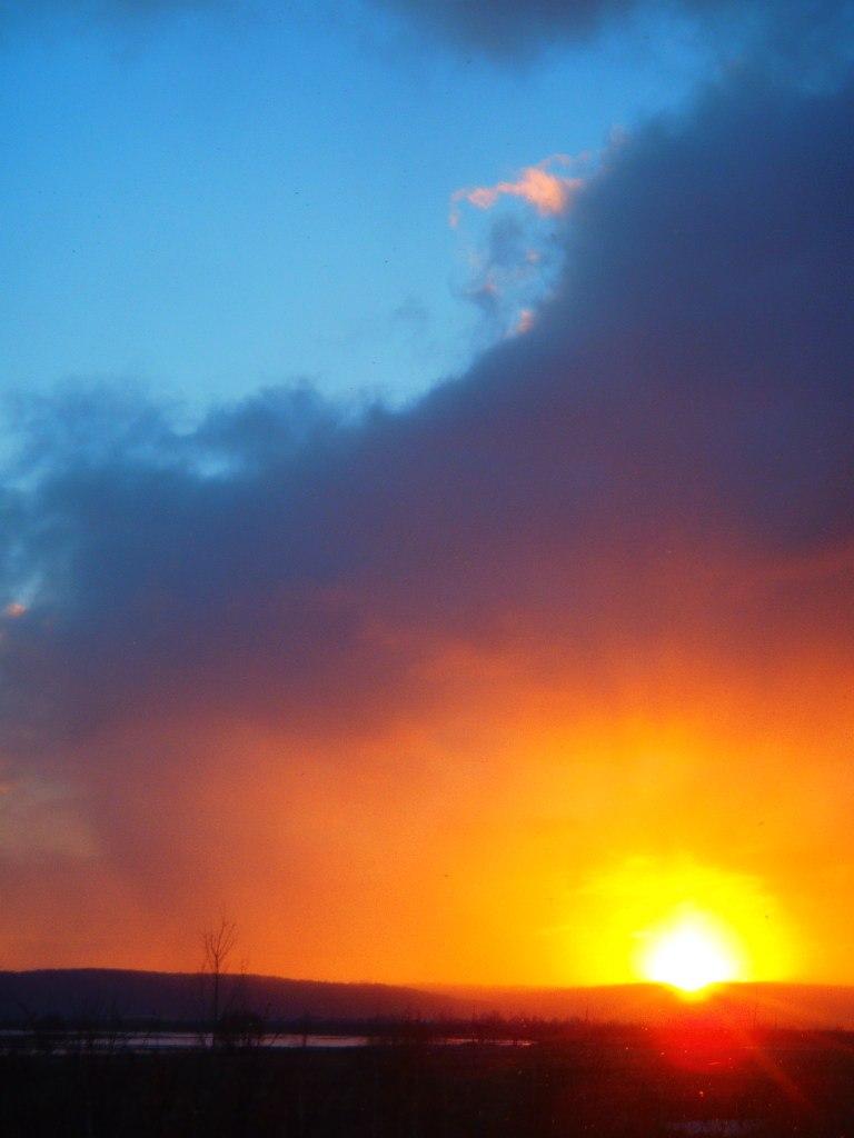 Blue Sky of Sunset by NightNike