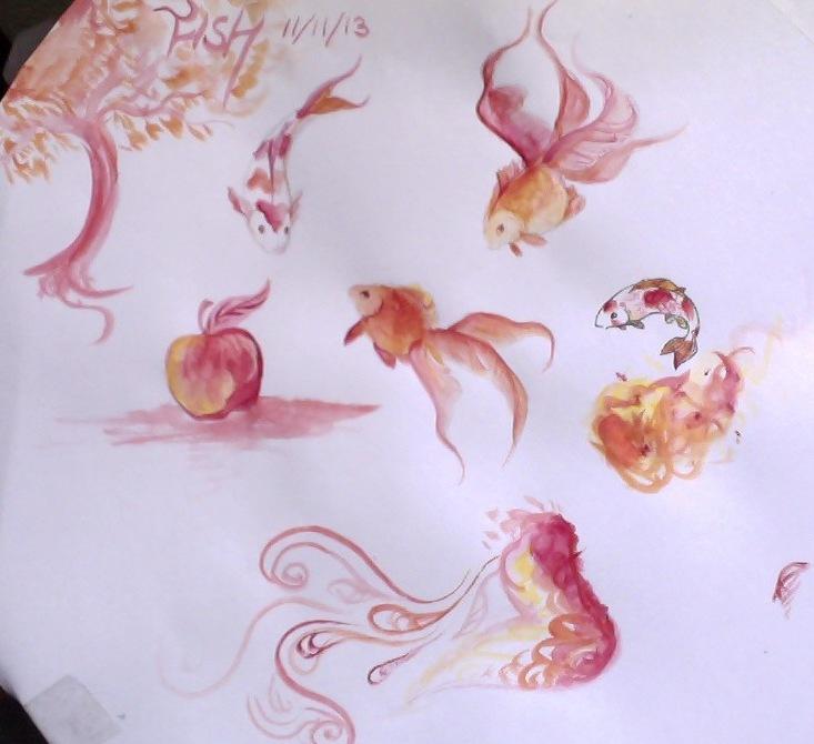 watercolor practice by rainfreezer