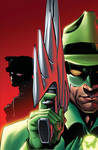 Green Hornet 18 cover