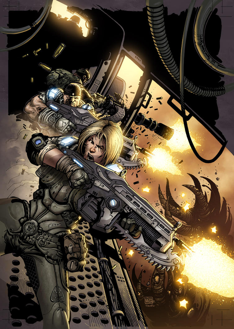 Gears 22 Cover by Wesflo