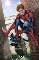 Peter Parker by Wesflo