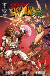 Savage Sasquanaut #5 Kickstarter Exclusive Cover