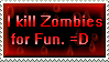 Zombie Fun Stamp by Viper-mod