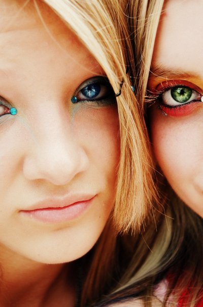 bright eyes by colorqueen03 - Renkli Sa�lar