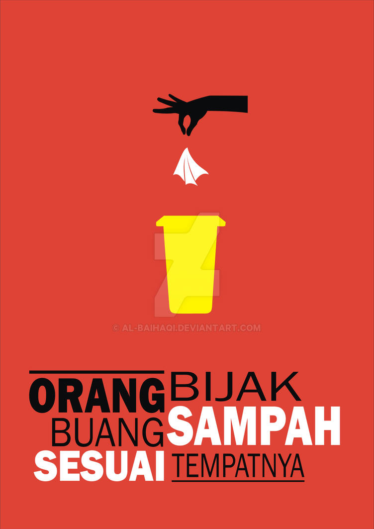 Poster Kebersihan by Al-Baihaqi on DeviantArt