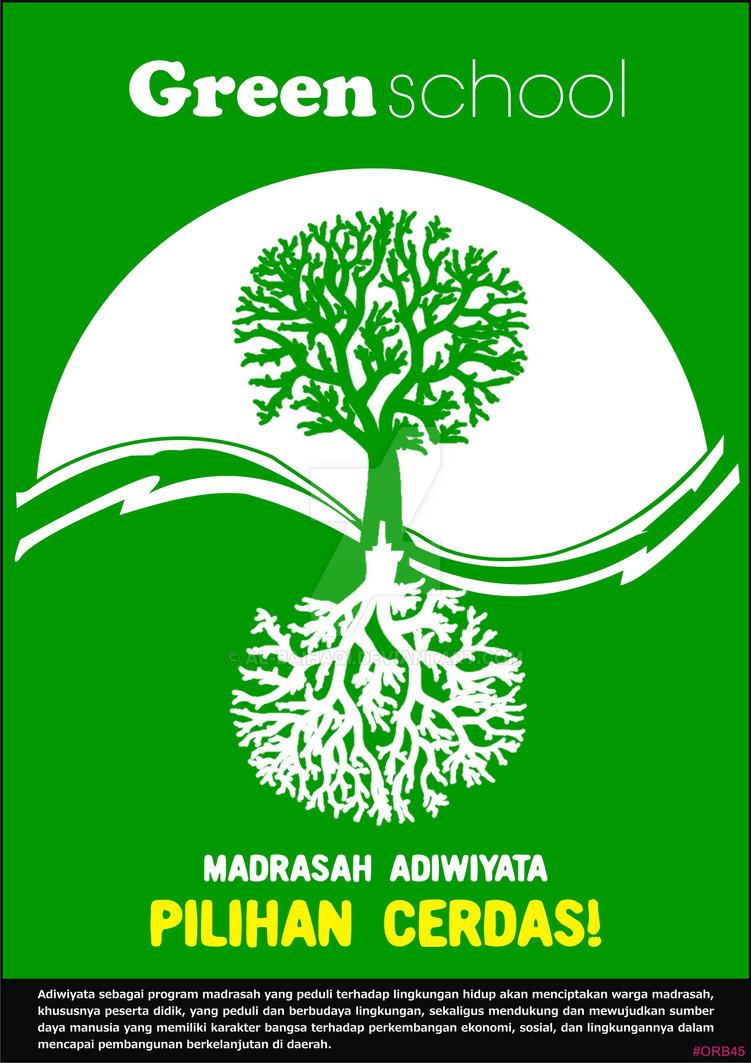 Gambar Poster Adiwiyata Sekolah Nusagates