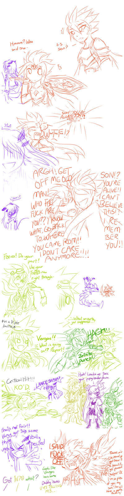 [Mini-Comix+BraveFrontier] HotHeaded Tsundere by SnivyBunneary190