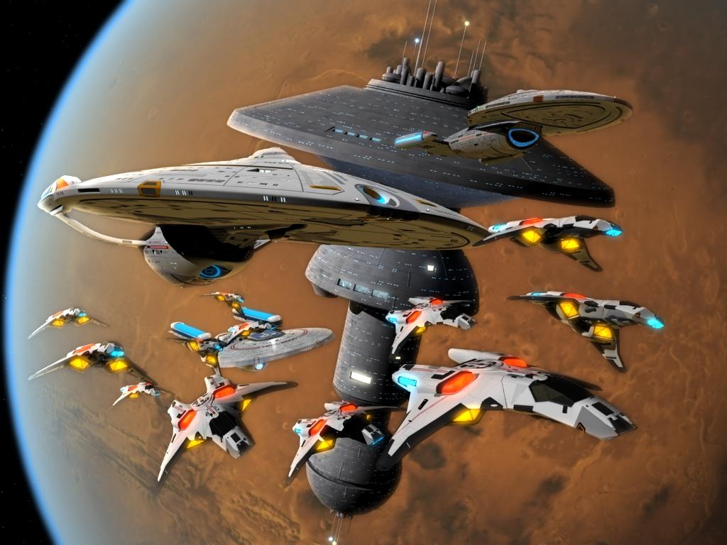 Leaving Spacedock by mavek-cg