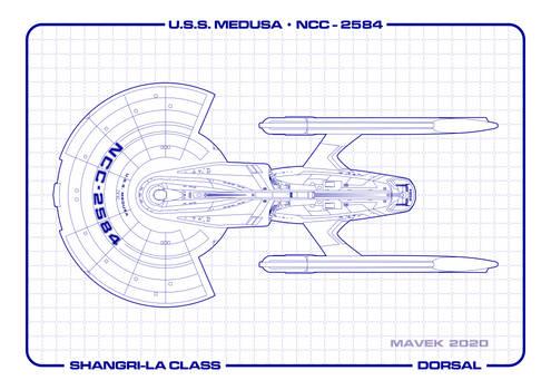 U.S.S. Medusa Dorsal